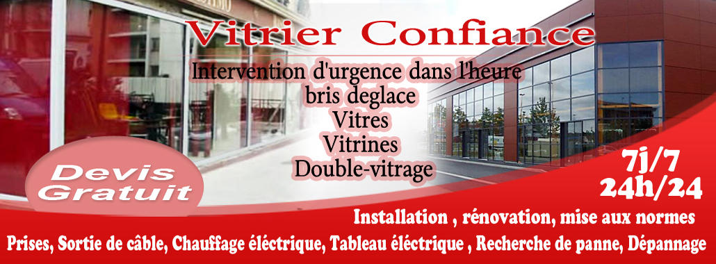 vitrerie Paris 14 01.48.75.28.33